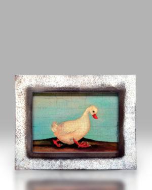 Duck – White Frame