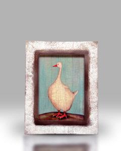 Goose – White Frame