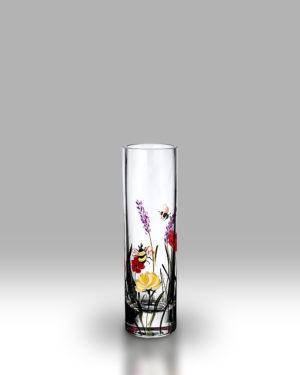 Bees & Poppy 19.5cm Bud Vase