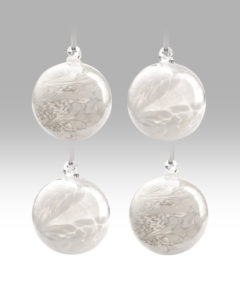 White Collection – Friendship Ball – Set of 4