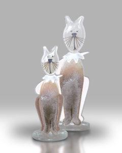 Cat & Kitten – Grey