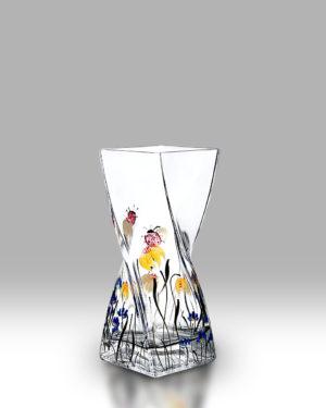 Ladybird Garden 20cm Twist Vase