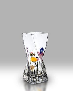 Bees & Ladybird 20cm Twist Vase