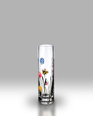 Bees & Ladybird 19.5cm Bud Vase
