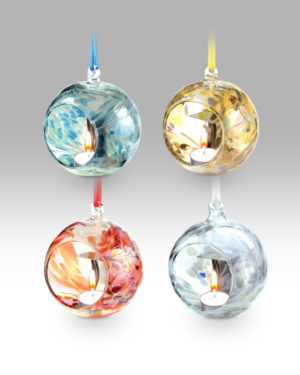 Hanging T'Light Sphere 1679-17 – Set of 4