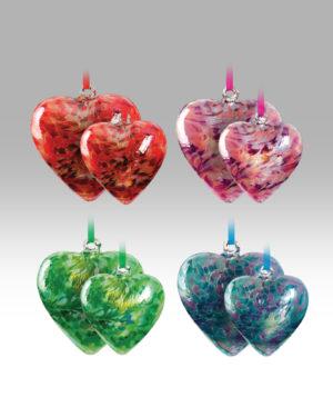 Friendship Heart Set 2118-20 & 2119-20 – Set of 4