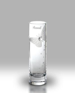 Swarovski Elements Butterfly 19.5cm Bud Vase