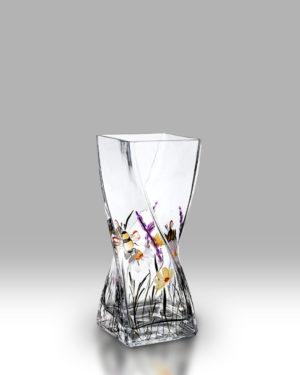 Bees & Blooms 20cm Twist Vase