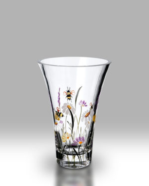 Bees & Blooms 19cm Flared Vase
