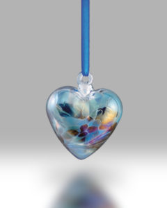 Birth Gem Hearts December – Pack of 4