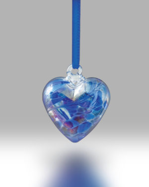 Birth Gem Hearts September – Pack of 4