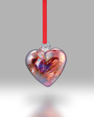 Birth Gem Hearts January – Pack of 4