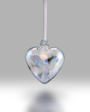 Birth Gem Hearts April – Pack of 4