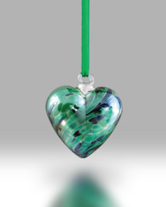 Birth Gem Hearts August – Pack of 4