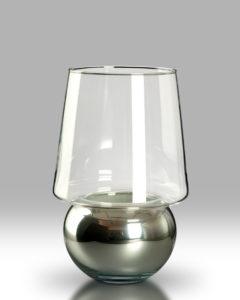 Candle Lantern – Silver