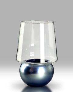 Candle Lantern – Slate Blue