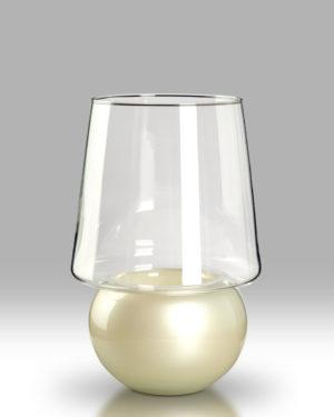 Candle Lantern – Lotus White