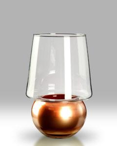 Candle Lantern – Rose Copper