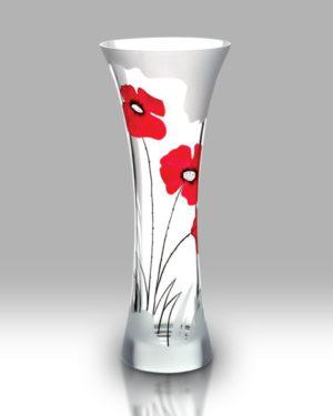 Classic Poppy 35cm Flared Vase