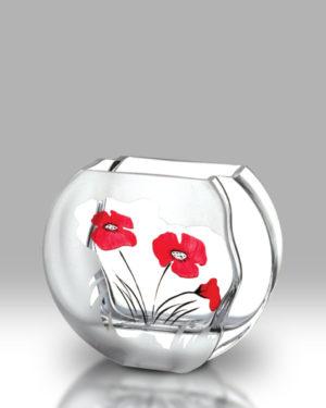 Classic Poppy 16cm Circle Vase