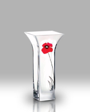 Classic Poppy 22.5cm Flared Vase