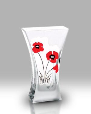 Classic Poppy 23cm Flat Flared Vase