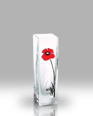 Classic Poppy 21cm Bud Vase