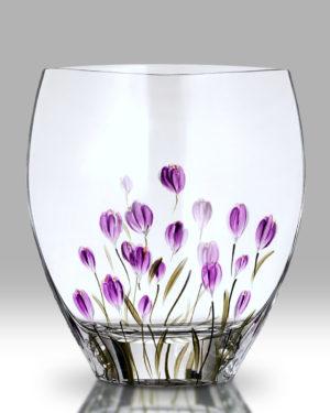 Crocus – Mulberry 21cm Curve Vase