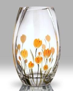Crocus – Saffron 20cm Round Vase
