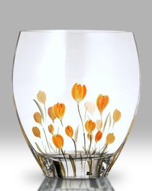 Crocus – Saffron 21cm Curve Vase