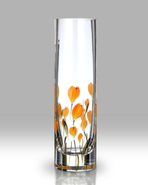 Crocus – Saffron 19.5cm Bud Vase