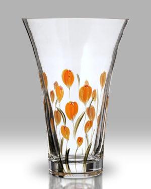Crocus – Saffron 19cm Flared Vase