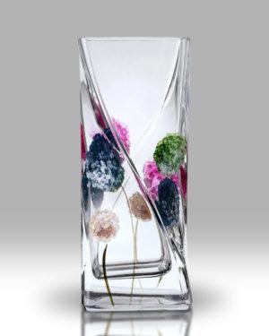 Dahlia – Pom Pom 20cm Twist Vase
