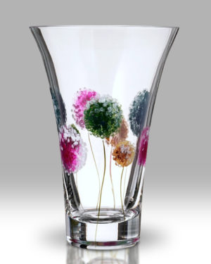Dahlia – Pom Pom 19cm Flared Vase