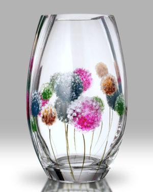 Dahlia – Pom Pom 20cm Round Vase