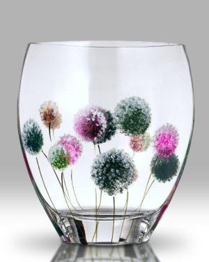 Dahlia – Pom Pom 21cm Curve Vase