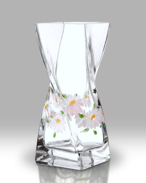 Daisy 20cm Twist Vase