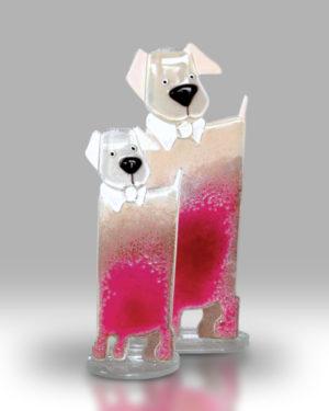 Dog & Puppy – Candy Pink