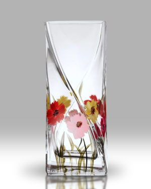 Gerbera 20cm Twist Vase