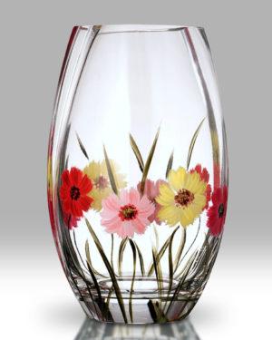 Gerbera 20cm Round Vase