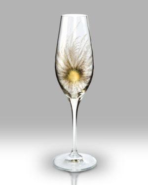 Gold Fantasia 25cm Champagne Pair