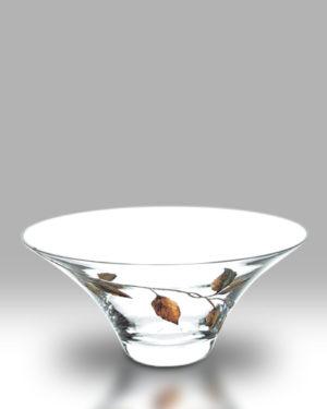 Gold Leaf 26cm Bowl