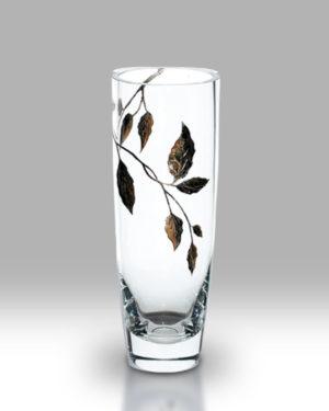 Gold Leaf 25cm Classic Vase