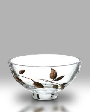 Gold Leaf 18cm Bowl