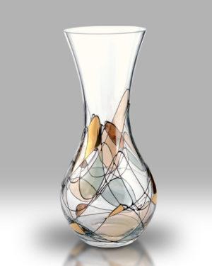 Gold Mosaic 28cm Bouquet Vase