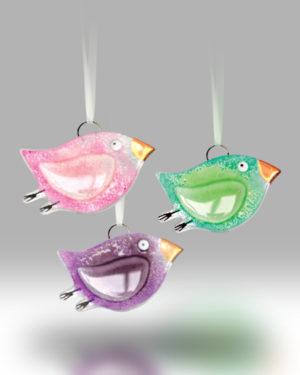 Hanging Bird 1720-17 – Set of 3