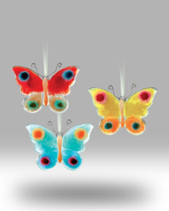 Hanging Butterfly 1705-17 – Set of 3