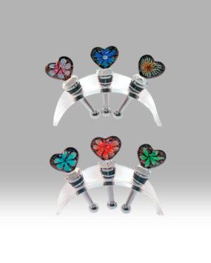 Heart Flower – Set of 6