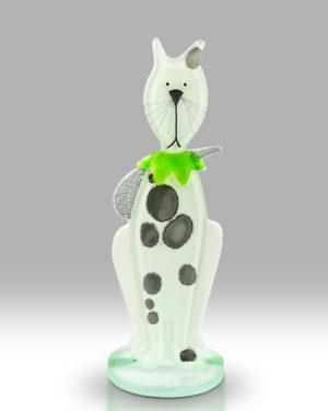 Kitten – White & Green