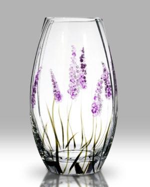 Lavender 20cm Round Vase